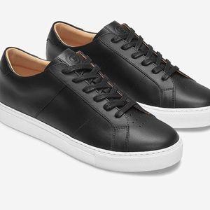 GREATS women's size 8 Black Leather Royale